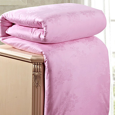 Peso neto ropa de cama de algod n jacquard de seda 100 edred n edred n de seda natural de - Edredon de seda ...