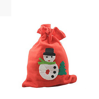 1pcs 2015 la vente de gros sac de cadeau de no l appliques couleur al atoire - Vente de cadeau de noel ...