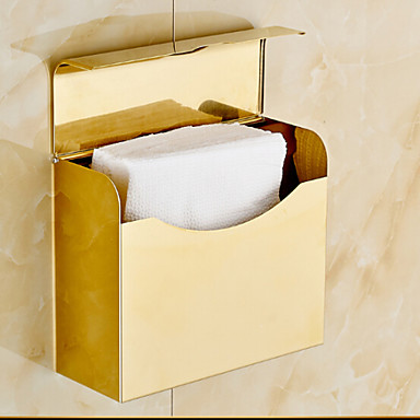 Gold Bathroom Accessories Solid Stainless Steel Toilet