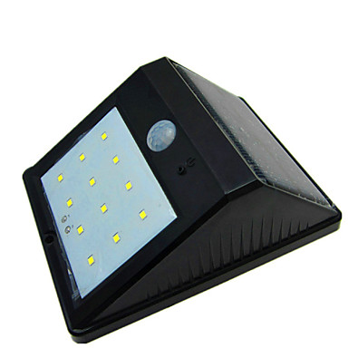 Hoge kwaliteit waterdichte zonne 12 led licht menselijk lichaam inductie lamp wandlamp - Kleine zonne lamp ...