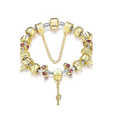 Buy Alloy / Silver Plated Bracelet Charm Bracelets Vintage Party Daily Casual 1pc