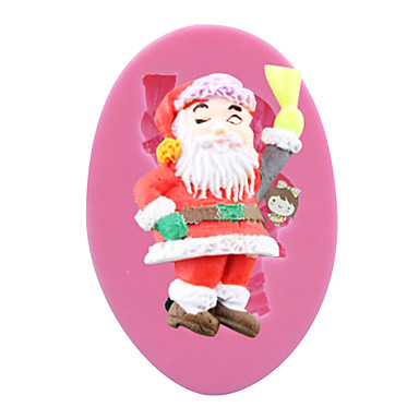 Buy Naughty Santa Shaped Silicone Cake Decorating Tools Cooking Kitchen SM-029