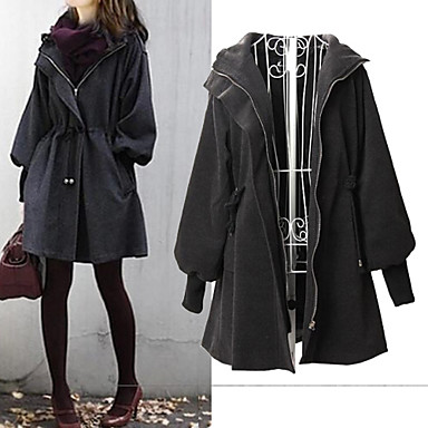 Women's Hooded Parka Coat
