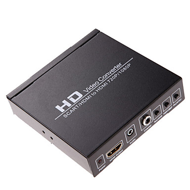 Buy Scart/HDMI HDMI 720P 1080P Converter HD Video Monitor Box HDTV DVD STB Scart