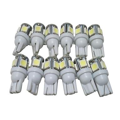 Buy Dozen T10 LED Bulbs Car Position Light W5W Reading Interior 5050 5SMD