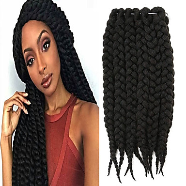 Crochet Box Braids Sale : Sale Good Quality Havana Twist Braid Synthetic Hair Crochet Braiding ...