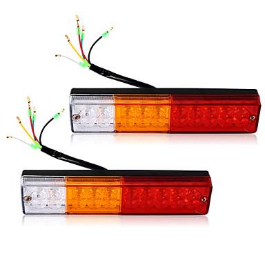2x led tail lights boat truck trailer caravan stop brake reverse indicator 12v 4816841 2016. Black Bedroom Furniture Sets. Home Design Ideas