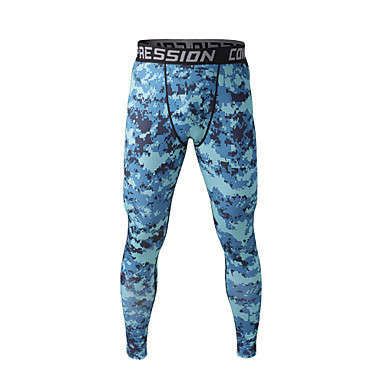 Buy Running Pants / Compression Clothing Shorts Bottoms Men'sBreathable High Breathability (>15,001g) Quick Dry Sweat-wicking