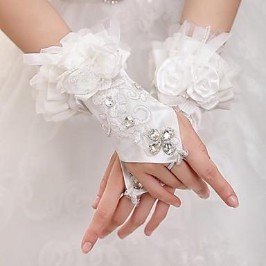longueur poignet mitaine gant tulle gants de mari e gants de f te soir e printemps et. Black Bedroom Furniture Sets. Home Design Ideas