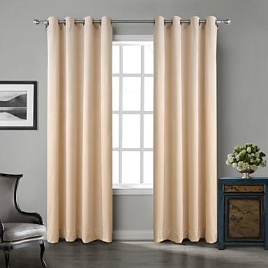 Two Panels Chadmade Solid Matt Finish Velvet Curtain Drape