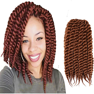 Crochet Box Braids 12 Inch : Hair Braids Blonde Brown Havana Twist Braid Havana Hair Crochet Braid ...