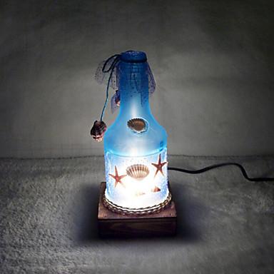 kreative weinflasche lampe schlafzimmer nachttischlampe beleuchtung lampen der europ ischen. Black Bedroom Furniture Sets. Home Design Ideas