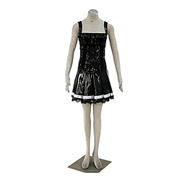 Buy Inspired Death Note Amane Misa Anime Cosplay Costumes Suits Patchwork Black Top