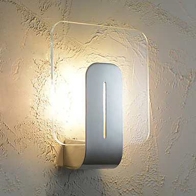 Modern Style Simplicity LED Wall Lights,Living Room Hallway Cafe Bedroom Kids Room Bedside Lamp ...
