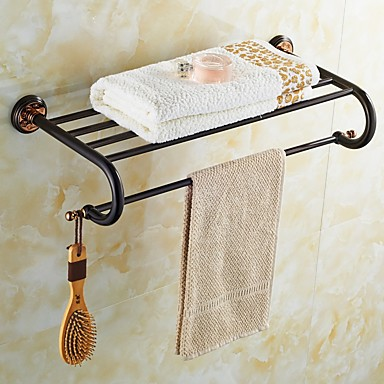 Orb And Rose Gold Plated Finishing Brass Material Bathroom Shelf 4966485 2017