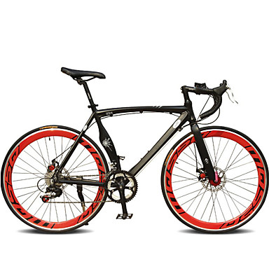 Road Bike Cycling 7 Speed 26 Inch/700CC 60mm Unisex / Men's / Women's SHIMANO TX-30 Double Disc Brake Ordinary Monocoque Ordinary/Standard