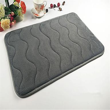 Buy Super Soft Coral Velvet Material Absorbent Sponge Non-Slip Mat W16 inch x L24