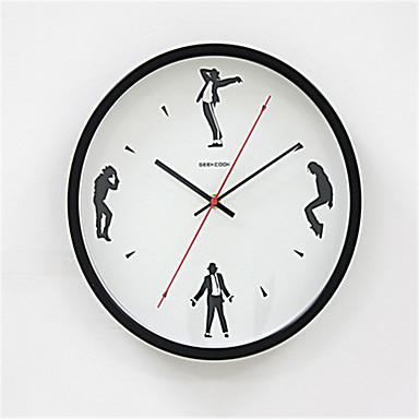 Otros moderno contempor neo reloj de pared otros metal 34 - Reloj de pared moderno ...
