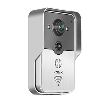 knx smart home phone remote wireless video doorbell intercom wifi 5110112 2017. Black Bedroom Furniture Sets. Home Design Ideas