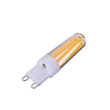Marsing G9 Dimmable 4W 300lm 4-COB LED Warm/Cool White Light Filament Bulb(AC220V)