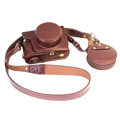 Buy Olympus E - M10ii camera holster removable battery EM10ii leather bags