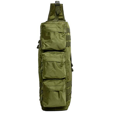 Buy 6 L Hiking & Backpacking Pack / Shoulder Bag Camping Outdoor Multifunctional Army Green Oxford