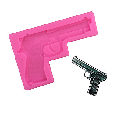 Gun Type Candy Fondant Cake Molds For The Kitchen Baking ...
