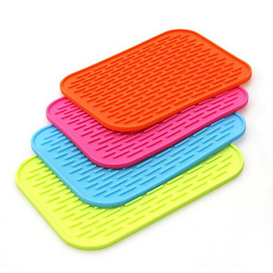 large thick silicone insulation mat kitchen table pad coasters anti hot non slip mats for car. Black Bedroom Furniture Sets. Home Design Ideas