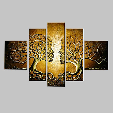 hand painted wall art home decorn tree of life pictures. Black Bedroom Furniture Sets. Home Design Ideas