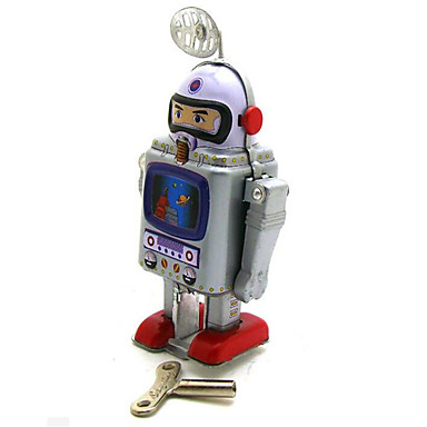 Novelty Lamp Crossword : Novelty Toy Puzzle Toy Educational Toy Wind-up Toy Puzzle Toy Warrior Robot Metal Silver For ...