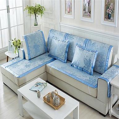 Double Sided Mat Cushion Summer Ice Silk Sofa Cushion
