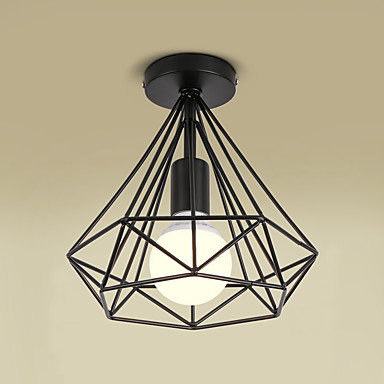 Flush ceiling light hallway