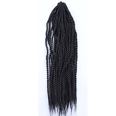 4 Different Color Long Size Senegal Crochet Twist Hair