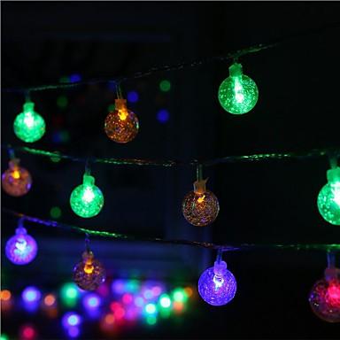40-LED 5M Star Light Waterproof Plug Outdoor Christmas Holiday Decoration Light LED String Light ...