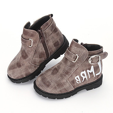 boy s boots fall winter platform leather outdoor