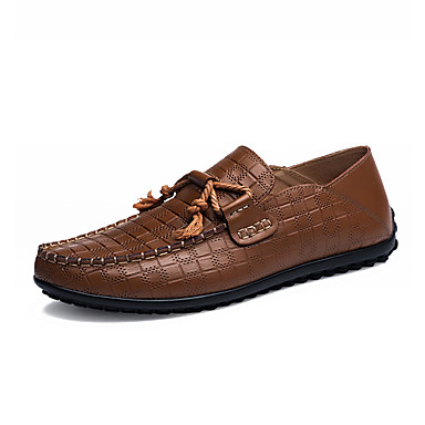 Men's Loafers & Slip-Ons Spring / Fall Moccasin / Comfort ...