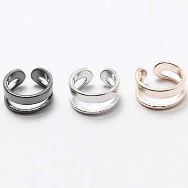 Ring Non Stone Halloween Wedding Party Daily Casual Jewelry Copper