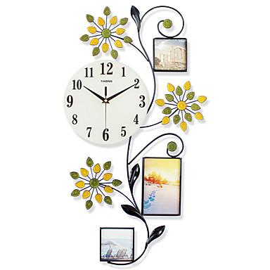 Moderne contemporain niches horloge murale autres verre - Pendules de cuisine originales ...