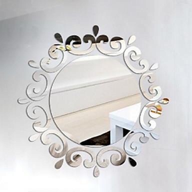 Formas 3d pegatinas de pared adhesivos de pared espejo - Adhesivos pared 3d ...