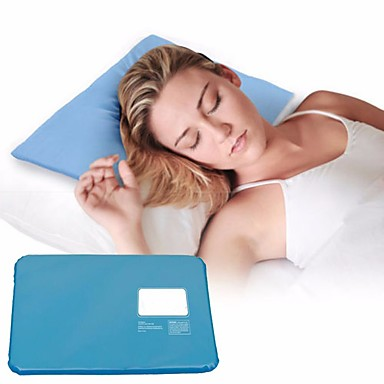 1PC Comfortable Relaxing Cool Summer Chillow Therapy Insert Sleeping Aid Pad Mat Muscle Relief Cooling Pillow Sleeping Cooling