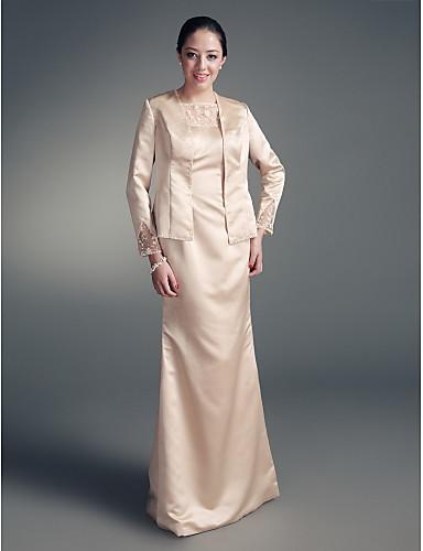 Lanting Bride® Sheath / Column Plus Size / Petite Mother of the ...