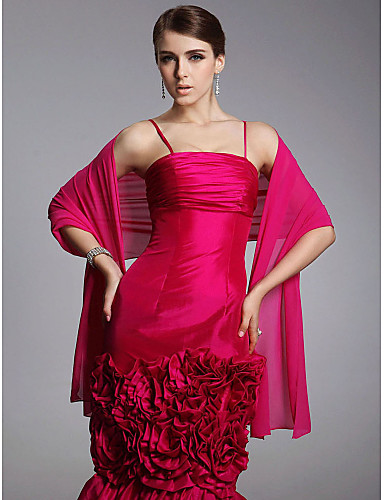 Chiffon special occasion wedding shawl more color 164953 for Shawls for wedding dresses