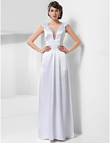 vestido de festa longo branco