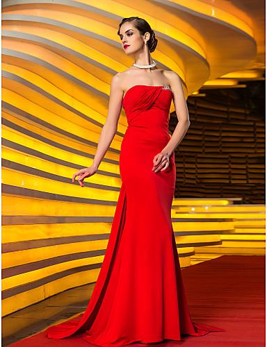 Vestido de casamento vermelho de Catherine Zeta-Jones