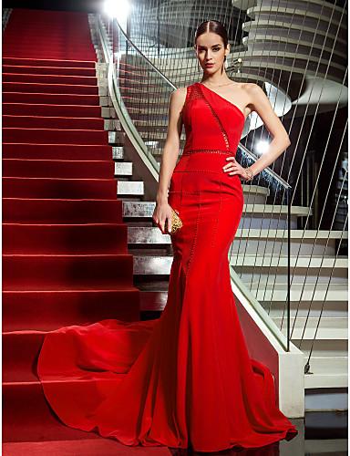 Vestido vermelho sexy de Heidi Klum – Vestidos do Globo de Ouro 2015