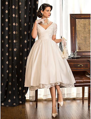 Lanting Bride® A-line / Princess Petite / Plus Sizes Wedding Dress ...