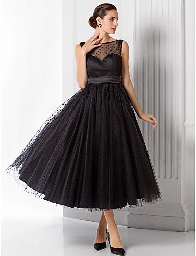 vestido de debutante preto de Rihanna