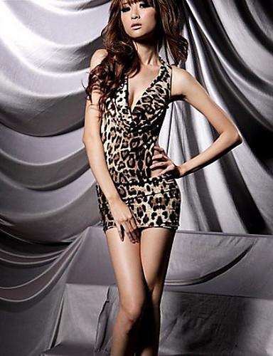 La moda de la ropa interior de leopardo sin respaldo de for Chicas guapas en ropa interior