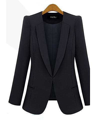 Buy Z.Y.P Women's New Thin Blazer Coat Top Jacket