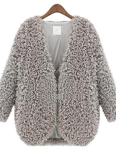 Buy Z.Y.P Women's New Western Lamb Woolen Coat